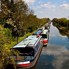 Along the Canal by Ellesscee