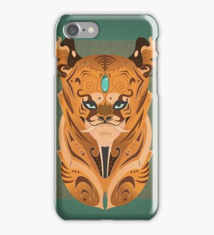 Tigers Mask iPhone Case/Skin