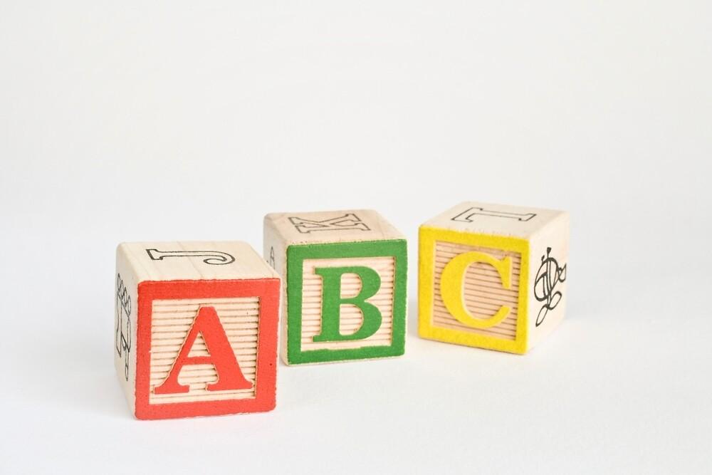 Alphabet Blocks by Ellesscee