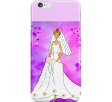 Pretty bride inspired by Barbie iPhone Case/Skin