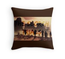 The Scorch Trials Throw Pillow