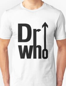 Doctor (The) Who - Black T-Shirt
