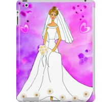 Pretty bride inspired by Barbie iPad Case/Skin