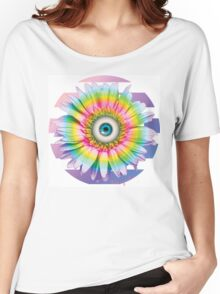 MYSTICAL ALL SEEING DAISY Women's Relaxed Fit T-Shirt