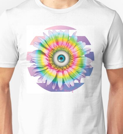 MYSTICAL ALL SEEING DAISY Unisex T-Shirt