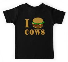 I Burger Cows Kids Tee