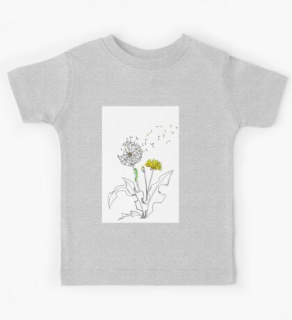 Dandelions 1 Kids Tee