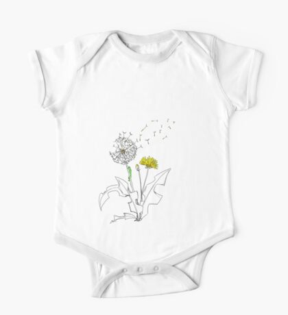 Dandelions 1 One Piece - Short Sleeve