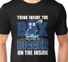 Dexter Laboratory meets Tardis Unisex T-Shirt
