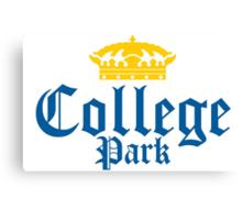 College Park Corona Logo Canvas Print