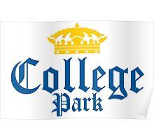 College Park Corona Logo Poster