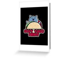 Soft Taco Night Greeting Card