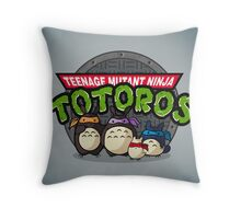 Turtle Neighbors Throw Pillow