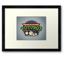 Turtle Neighbors Framed Print