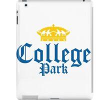 College Park Corona Logo iPad Case/Skin