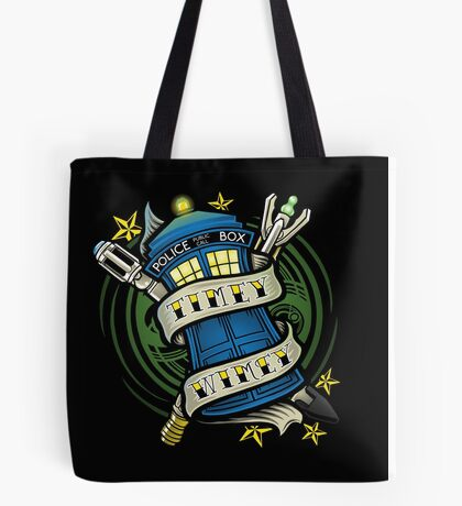 Timey Wimey (pillow) Tote Bag