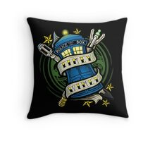 Timey Wimey (pillow) Throw Pillow