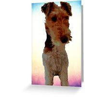 Bobby the dog Greeting Card