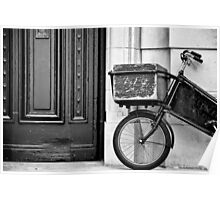 The Book Bike Poster