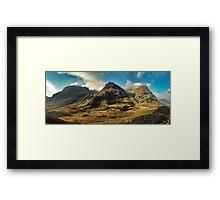 Glen Coe Framed Print