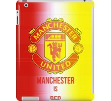 Manchester united Fc iPad Case/Skin