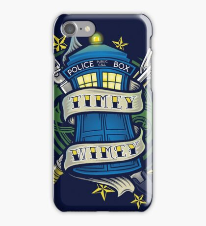 Timey Wimey (iphone case1) iPhone Case/Skin