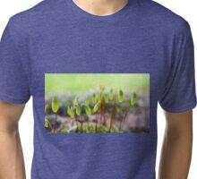 Grimmia Moss Capsule Tri-blend T-Shirt