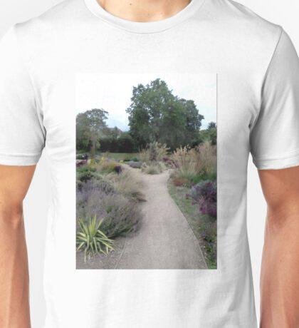 Pathway in the park. Unisex T-Shirt