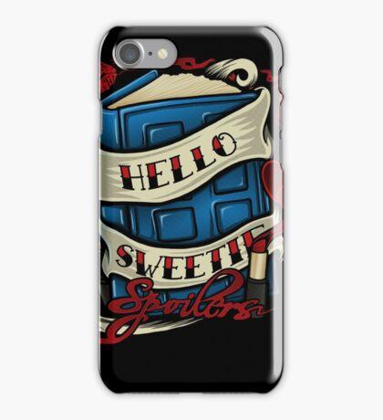 Hello Sweetie (iphone case2) iPhone Case/Skin