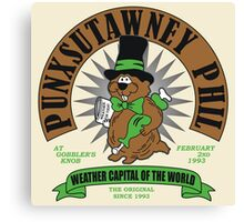 PUNXSUTAWNEY PHIL Canvas Print