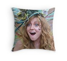 TWIG ~ the Renaissance Fairy Throw Pillow
