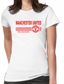 Manchester United - The Reds Womens Fitted T-Shirt