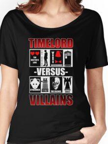 Time versus Villains Women's Relaxed Fit T-Shirt