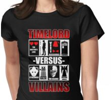 Time versus Villains Womens Fitted T-Shirt