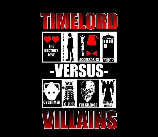 Time versus Villains by Ameda Nowlin