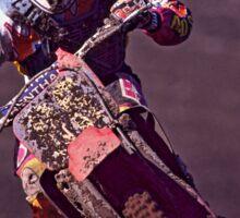 Motocross racer Sticker