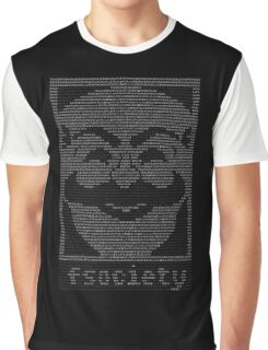 Mr  Robot   Fsociety Dat Graphic T-Shirt