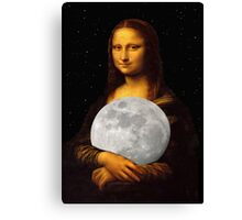 Moona Lisa Canvas Print