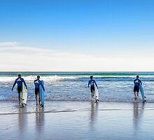 A Surfers Paradise - Gold Coast Qld Australia by Beth  Wode