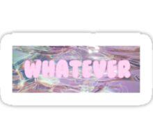 Whatever rainbow water Sticker