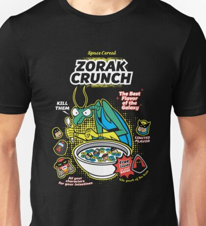 Zorak Cruch Cereal - Space Ghost Unisex T-Shirt