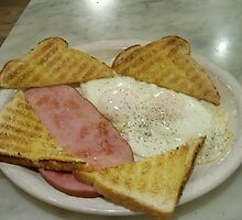 Ham & Eggs at WALL DRUG by Diane Trummer Sullivan