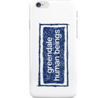 Greendale Human Beings iPhone Case/Skin