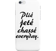 PLIE JETE CHASSE EVERYDAY iPhone Case/Skin