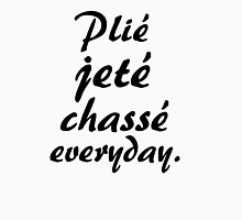 PLIE JETE CHASSE EVERYDAY Womens Fitted T-Shirt