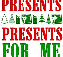 PRESENTS PRESENTS FOR ME by Divertions