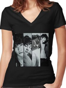 Kim young kwang, sweet stranger and me Women's Fitted V-Neck T-Shirt
