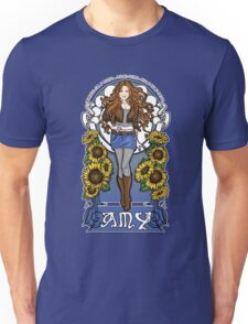 The Girl Who Waited (Amy in sunflowers) Unisex T-Shirt