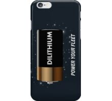 Batteries Not Included iPhone Case/Skin