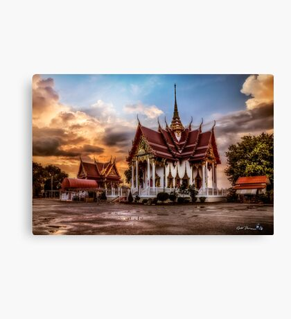 Buddhist Temple Canvas Print